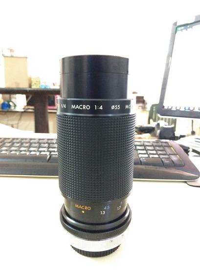 Lente Kiron Canon Montura Fd 80-200 F/4