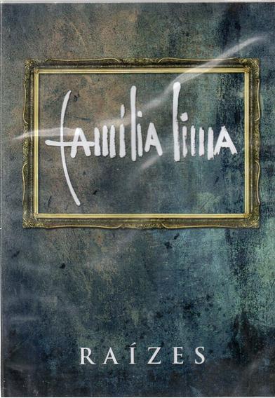 Dvd Família Lima Raizes Original Lacrado