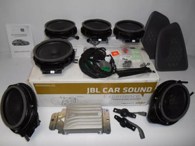 Kit Sistema Áudio Jbl Car Sound Cruze Sedan - Pç 52103518