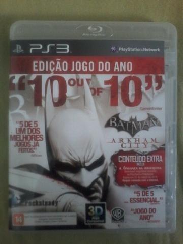 Batman Arkham City - Ps3 - Mídia Física