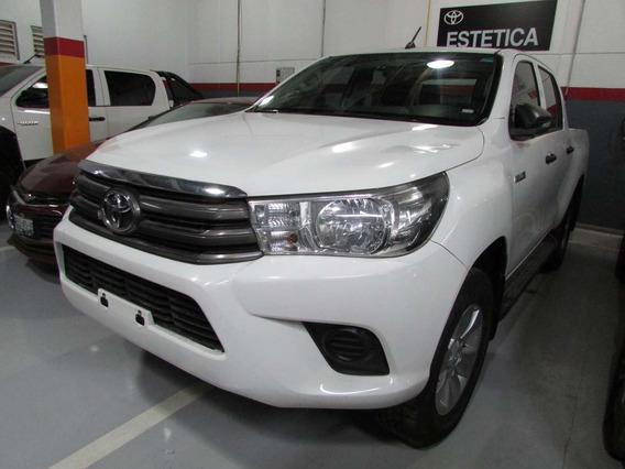 Hilux 4x2 D-cabina Mid 2017 Blanca