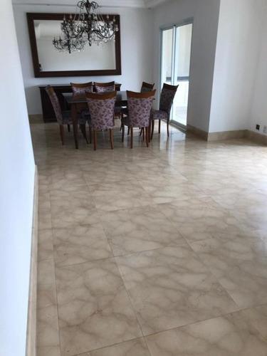 Apartamento Com 3 Dormitórios Para Alugar, 170 M² Por R$ 6.000,00 - Santo Amaro - São Paulo/sp - Ap0405