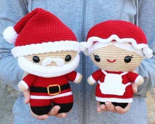 Pack +50 Patrones Navidad Pesebre Crochet Amigurumi