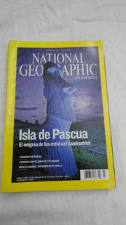 Revista National Geographic- Julio 2012 - Isla De Pascua