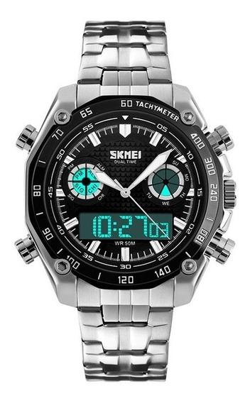Relógio Masculino Skmei Anadigi 1204