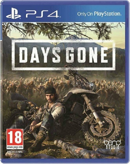 Jogo Days Gone Ps4 Mída Física Lacrado