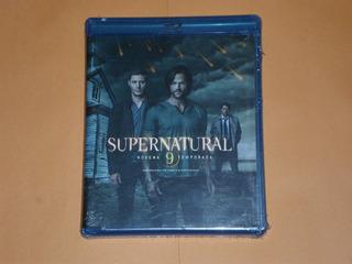 Supernatural Novena Temporada Blu-ray