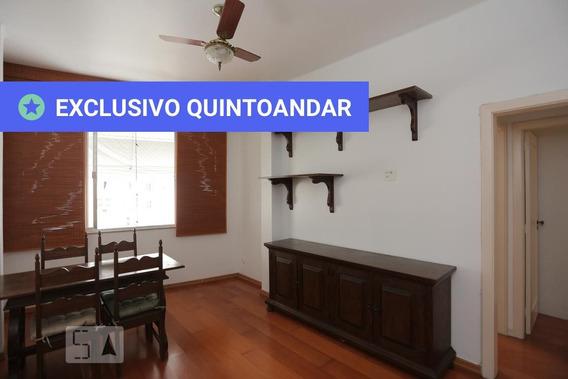 Apartamento No 6º Andar Mobiliado Com 2 Dormitórios - Id: 892971875 - 271875