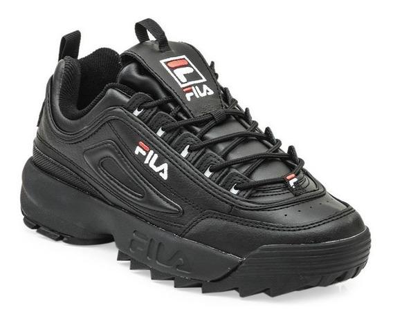 Zapatillas Hombre Fila Disruptor Ii Premium 021 Negro Looking