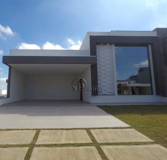 Casa Com 3 Dormitórios À Venda, 180 M² Por R$ 890.000 - Jardim Residencial Dona Lucilla - Indaiatuba/sp - Ca1964