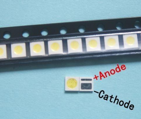 Diodo Led Backlight 3030 3v 1w Branco Frio Aoc-toshiba (kit 50 Peças)