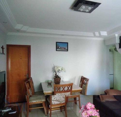 Imagem 1 de 7 de Sobrado Com 3 Dormitórios À Venda, 122 M² Por R$ 480.000,00 - Vila Curuçá - Santo André/sp - So0352