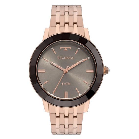 Relógio Technos Elegance Crystal Feminino Vh31aaa/4p