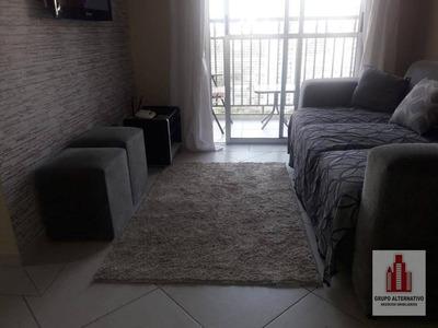 Apartamento Com 3 Dormitórios À Venda, 57 M² Por R$ 370.000 - Tatuapé - São Paulo/sp - Ap0989