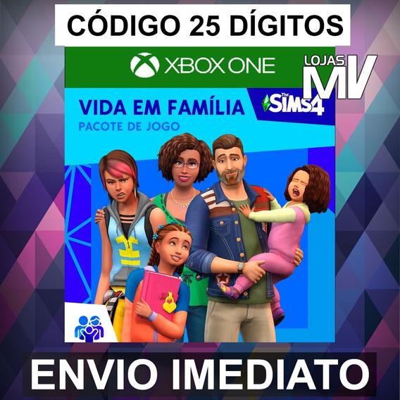 The Sims Vida Em Família - Xbox One Código 25 Dígitos