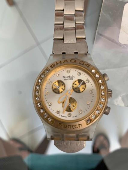 Relógio Swatch Diaphane Feminino