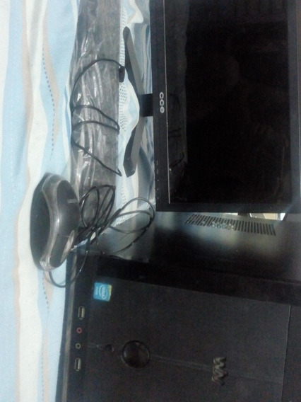 Pc+monitor+anti-virus320gb-hd 2gb Ram Tela De 15.6 Led