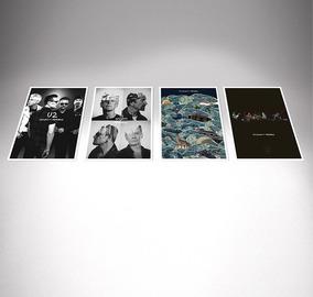 U2 Poster - Litografia - 4 Posters Fã Clube - Oficial!