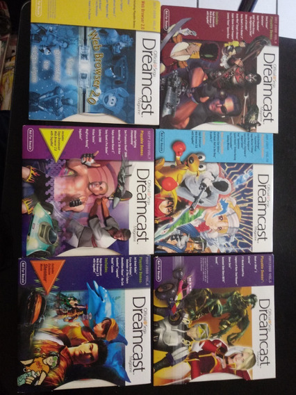 Jogos Cd Revista Dreamcast Magazine Usa Sega