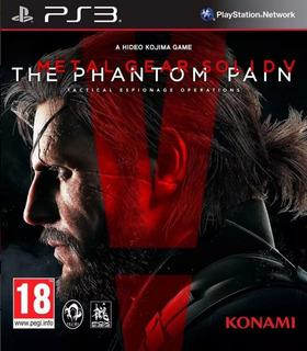 Metal Gear Solid V The Phantom Pain Ps3 - Play Mexico