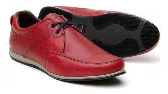 Sapato Hayabusa Couro Masculino
