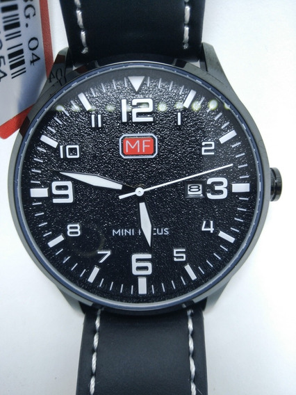 Relógio Masculino Casual Preto Elegante Analógico