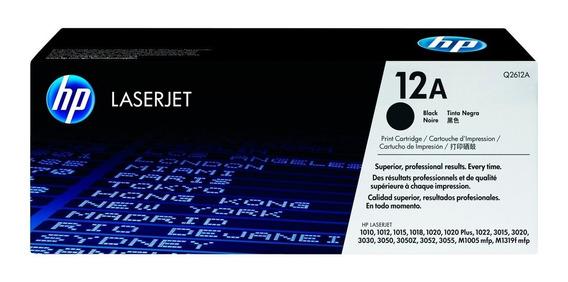 Hp 12a Tóner Negro Laserjet (q2612a)