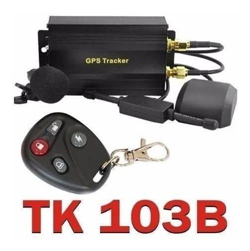 Rastreador Localizador Bloqueador Gps Veicular Tk-103b V23