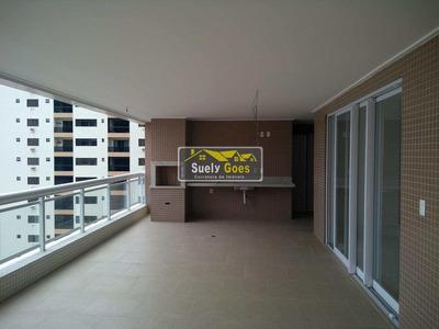 Apartamento Com 4 Dorms, Canto Do Forte, Praia Grande - R$ 1.81 Mi, Cod: Ap128 - Vap128