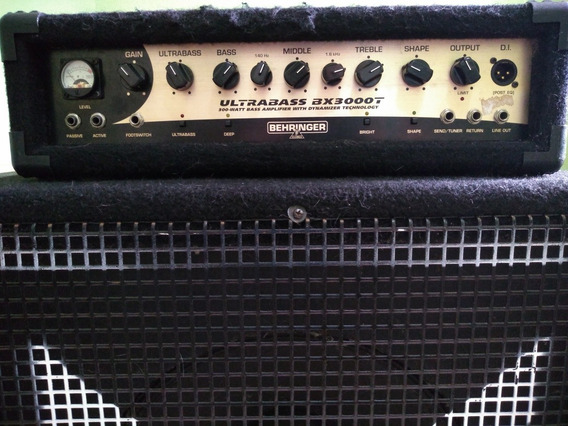 Cabeçote Behringer Ultrabass Bx 3000t