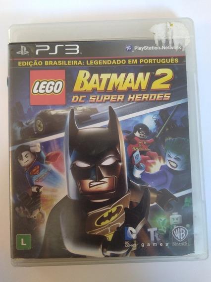 Jogo Lego Batman 2 Super Heroes Legenda Br Fisica Ps3 R$69,9