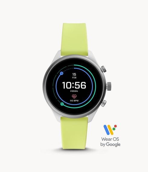 Reloj Smartwatch Unisex Fossil Sport 41mm Varios Colores