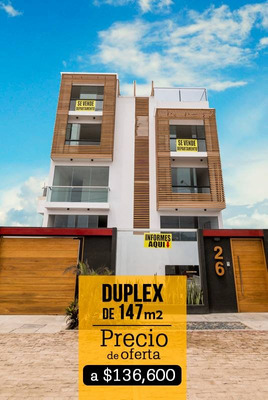 Dpto De Exclusivo De 147m2 - Playa Pulpos (41.5 Km Pan. Sur)