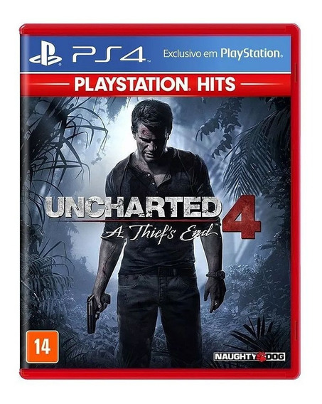 Uncharted 4 A Thiefs End Ps4