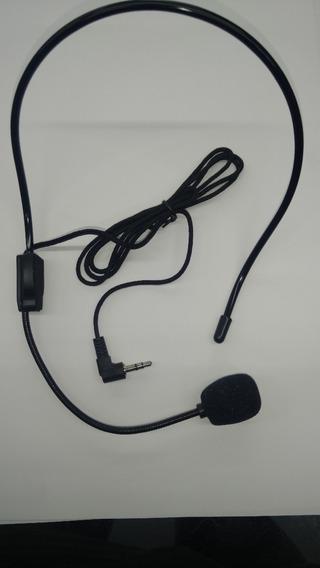 Microfone Auricular/headset P2