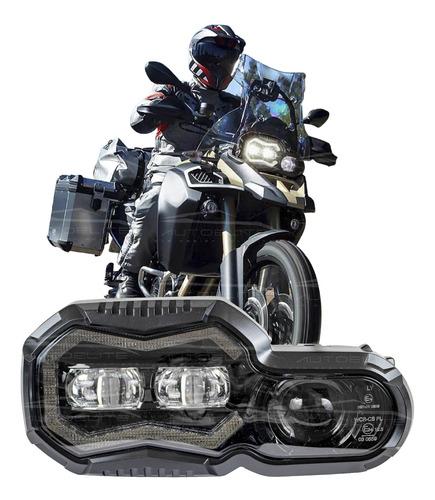 Imagen 1 de 10 de Faro Led Motocicleta Bmw Gs 700 800 Luz De Dia