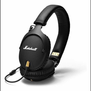 Audífonos Marshall Monitor Negro Microfono