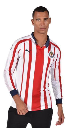 Playera Chivas - Puma - 703883 01 - Blanca Hombre