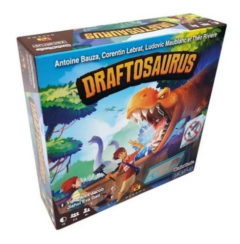 Draftosaurus Juego De Mesa Familiar Dinosaurios Draft