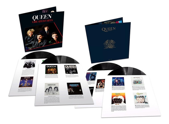 Lp Queen Greatest Hits 1 E 2 Duplos Importados 180g Lacrados