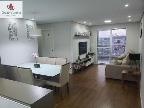 Apartamento A Venda No Bairro Vila Maria Alta Em São Paulo - L4962-1