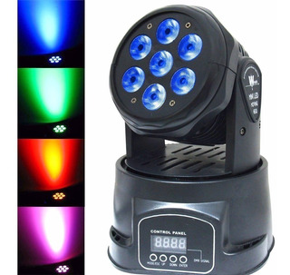 Cabeza Movil Robotico Par 7 Led 70w Rgb Dmx Ml2521