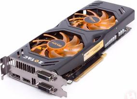 Placa De Vídeo Vga Zotac Geforce Gtx770 2gb Ddr5 256-bit Pci