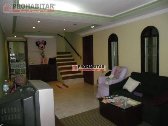 Sobrado Residencial À Venda, Vila Campo Grande, São Paulo - So1945. - So1945