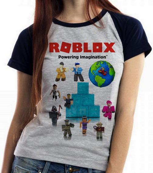Camisa Roblox Feminino - Blusas com o Melhores Preços no