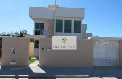 Imagem 1 de 28 de Casa Duplex, Terreno Inteiro, Jardim Bela Vista, Rio Das Ostras. - Ca0849