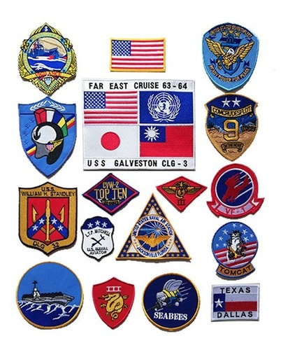 Logos Topgun, Escudo En Tela Topgun, Pelicula Topgun2, Pilot