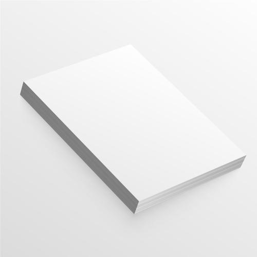 300 Hojas De Papel  Propalcote 90 Gr Tamaño Cartas