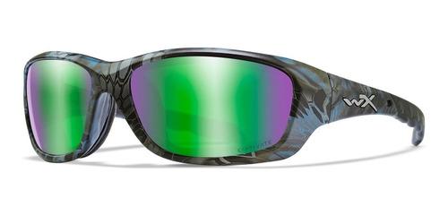 Óculos Balístico - Wx Gravity Lente Verde Espelhada Wiley X