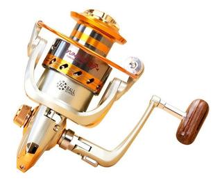 Reel Frontal Yumoshi Ef4000 Para Spinning Y Pesca Variada